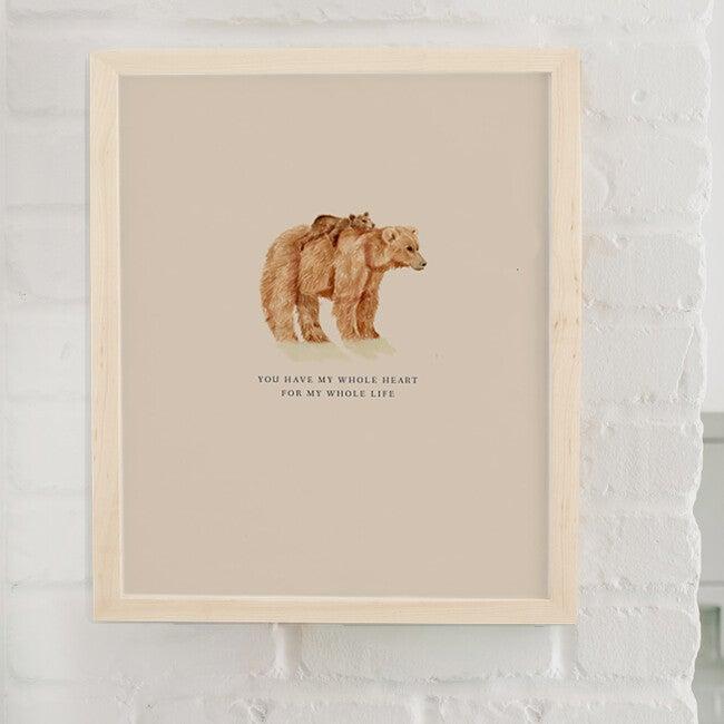 Mama Bear Art Print, Unframed