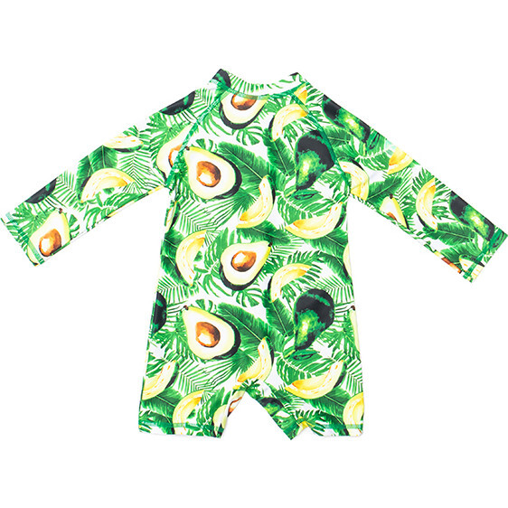 Mini Taylor Baby LS Sunsuit, Avocado print