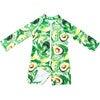 Mini Taylor Baby LS Sunsuit, Avocado print - One Pieces - 2