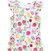 Mini Eve Girls Ruffle Swim Top, Fresco Crush - Two Pieces - 1 - thumbnail