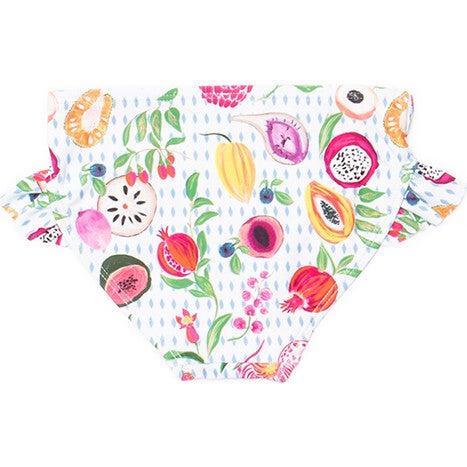 Mini Gemma Girls Ruffle Swim Bottom, Fresco Crush
