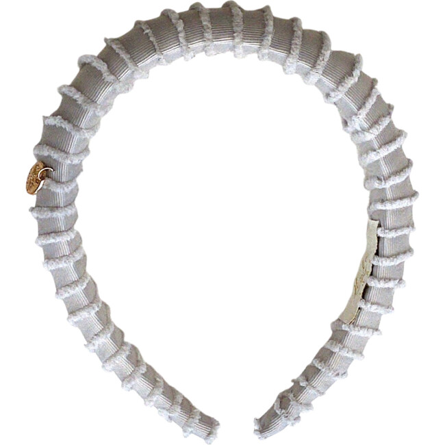 Noa Fringe Headband, Cloud