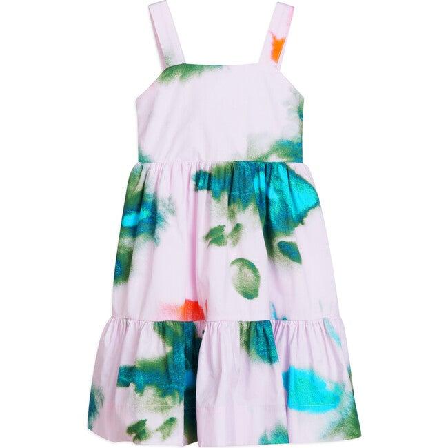 Gia Dress, Pigment Splash Hyacinth