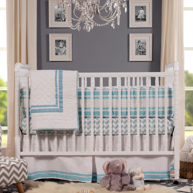 Jenny Lind 3-in-1 Convertible Crib, White