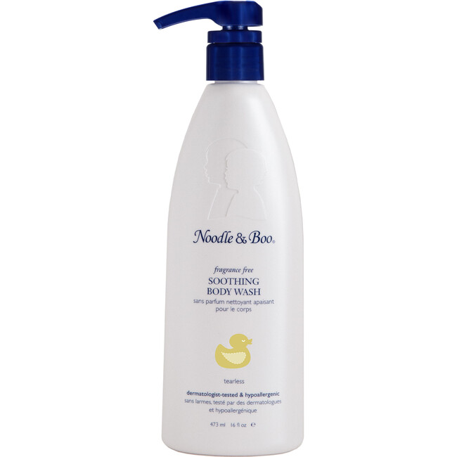 Soothing Body Wash, Fragrance Free