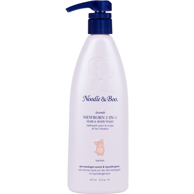Newborn 2-in-1 Hair and Body Wash, Lavender