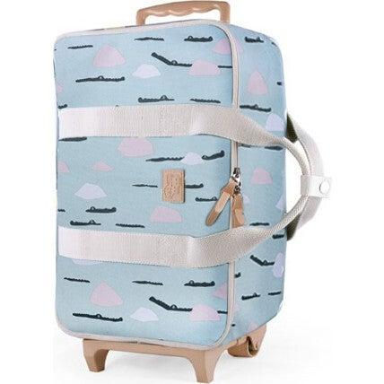 Baby Travel Bag, Green Croco