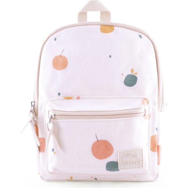 Baby Pack Bag, Beige Fruit - Backpacks - 1