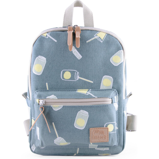 Baby Pack Bag, Blue Cans