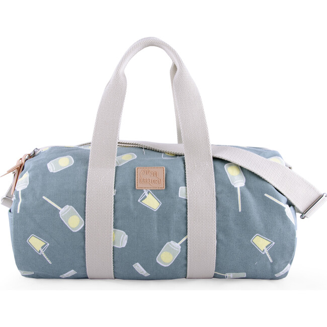Maxi Roll Bag, Blue Cans