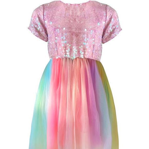 Sequin Sherbert Dress, Multi