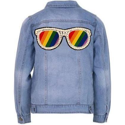 Rainbow Sunnies Jacket, Denim