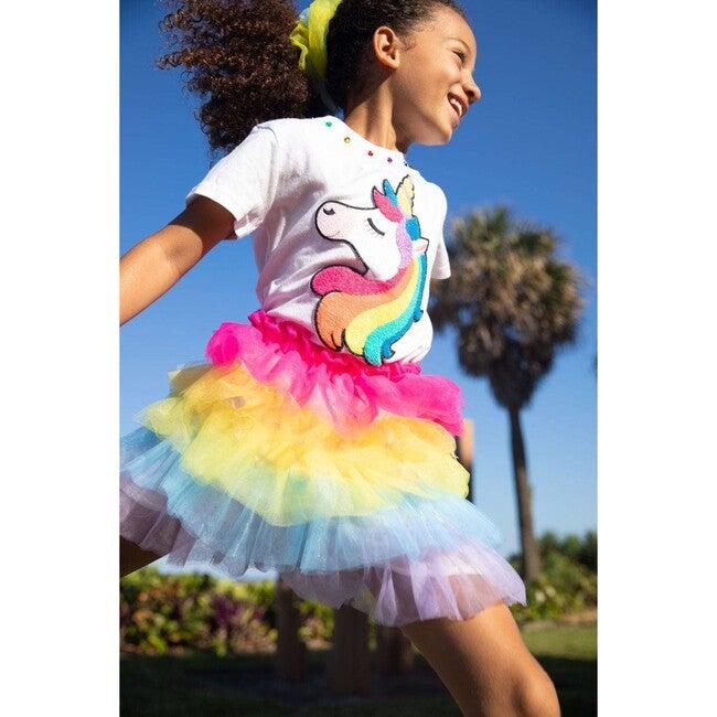 Rainbow Tutu Skirt, Multi