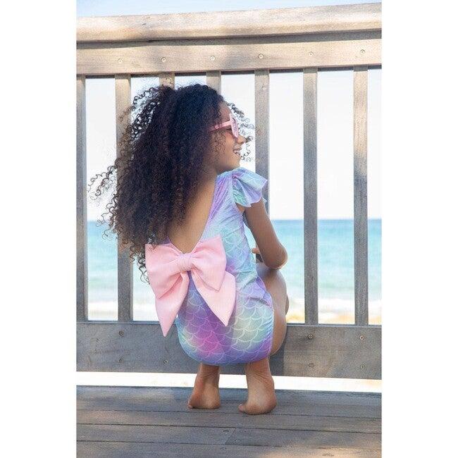 Mermaid Bow Swim, Purple