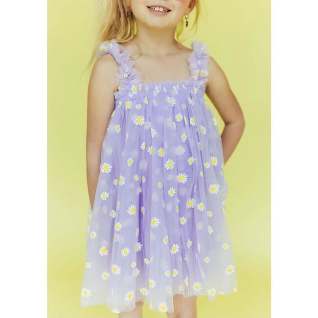 Daisy Tulle Dress, Lavender
