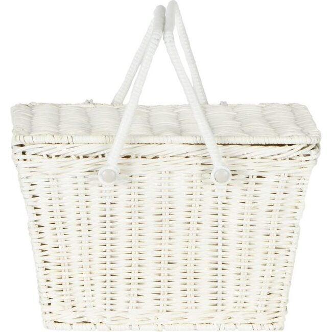 Piki Basket, White