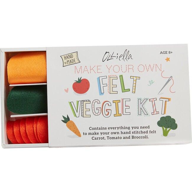 Felt Vegetable Craft Set, Multi