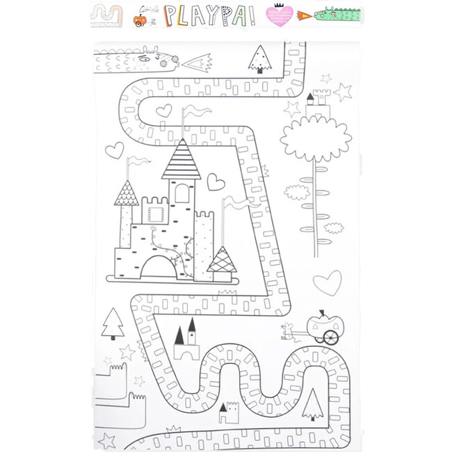 Playpa Fairytale Coloring Roll