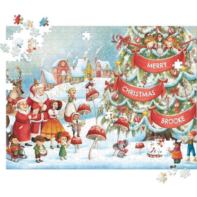 My Very Own Christmas 500-Piece Puzzle, Light Skin Santa