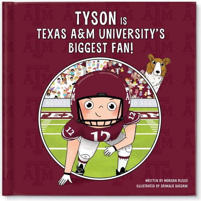 Biggest Fan! Texas A&M, Light Skin Tone