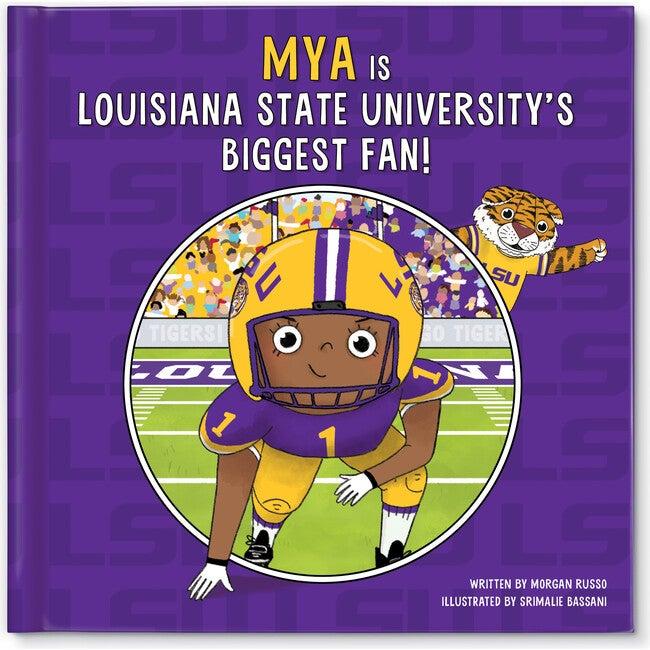 Biggest Fan! Louisiana State University, Dark Skin Tone