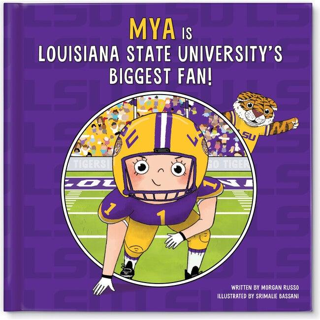 Biggest Fan! Louisiana State University, Light Skin Tone