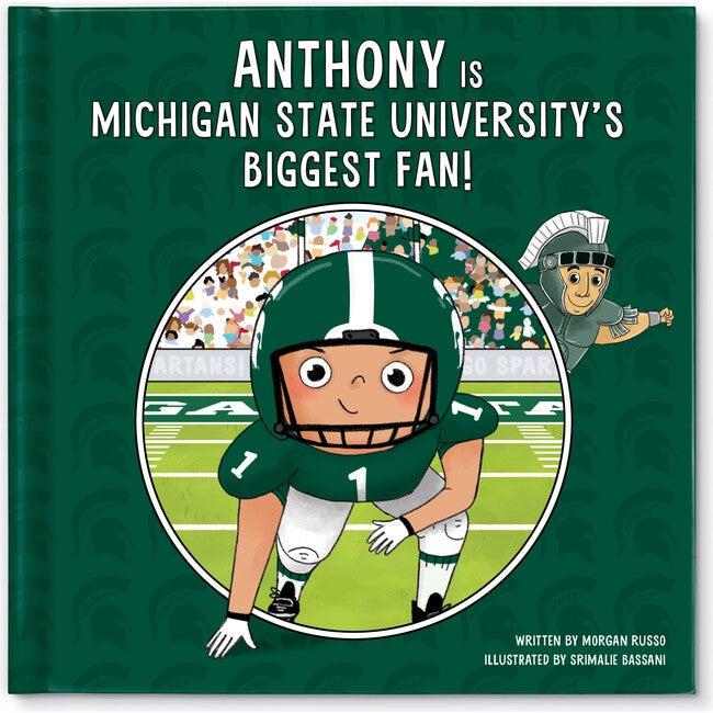 Biggest Fan! Michigan State, Medium Skin Tone