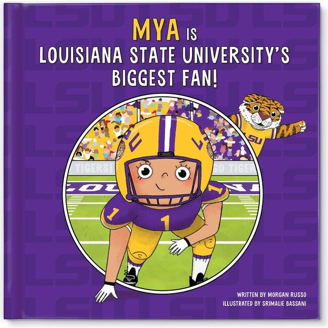 Biggest Fan! Louisiana State University, Medium Skin Tone