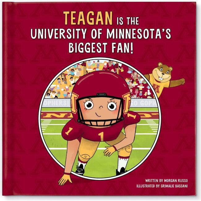Biggest Fan! University of Minnesota, Medium Skin Tone