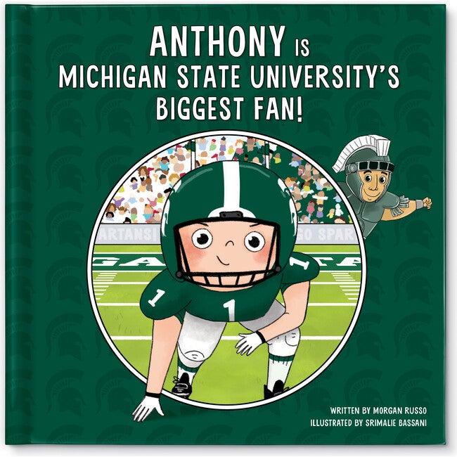 Biggest Fan! Michigan State, Light Skin Tone