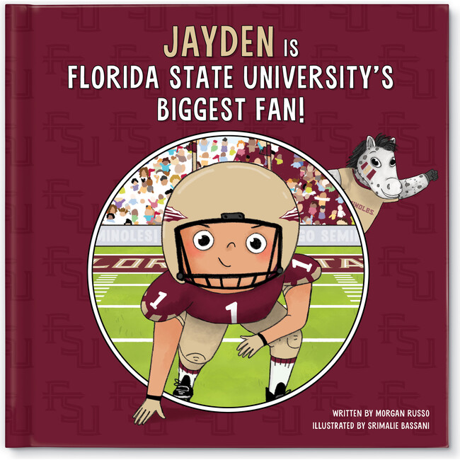 Biggest Fan! Florida State University, Medium Skin Tone
