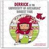Biggest Fan! University of Arkansas, Medium Skin Tone - Books - 1 - thumbnail