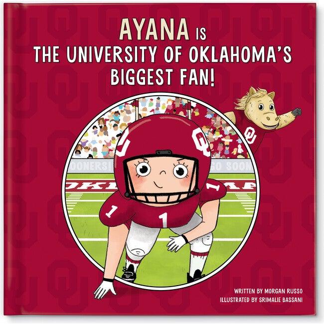 Biggest Fan! University of Oklahoma, Light Skin Tone