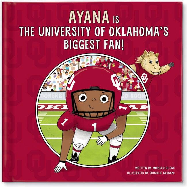 Biggest Fan! University of Oklahoma, Dark Skin Tone