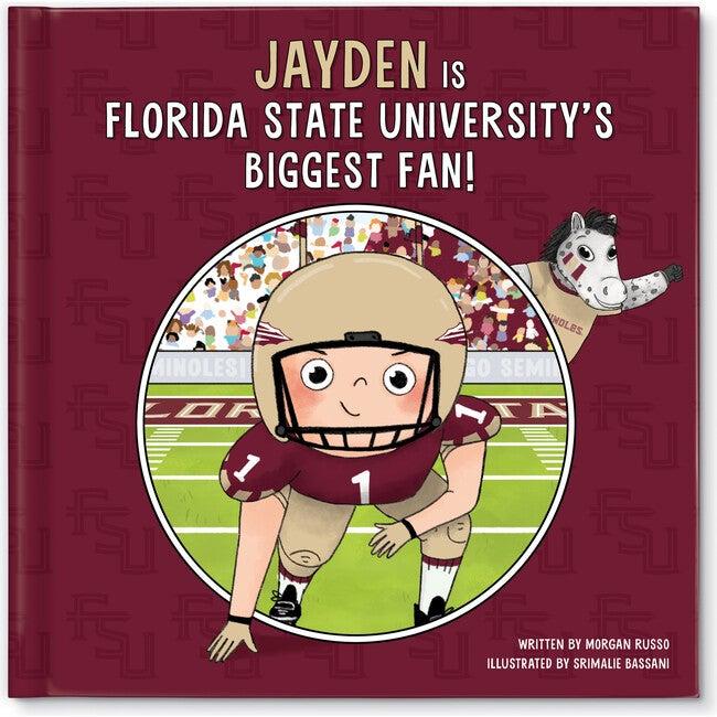 Biggest Fan! Florida State University, Light Skin Tone