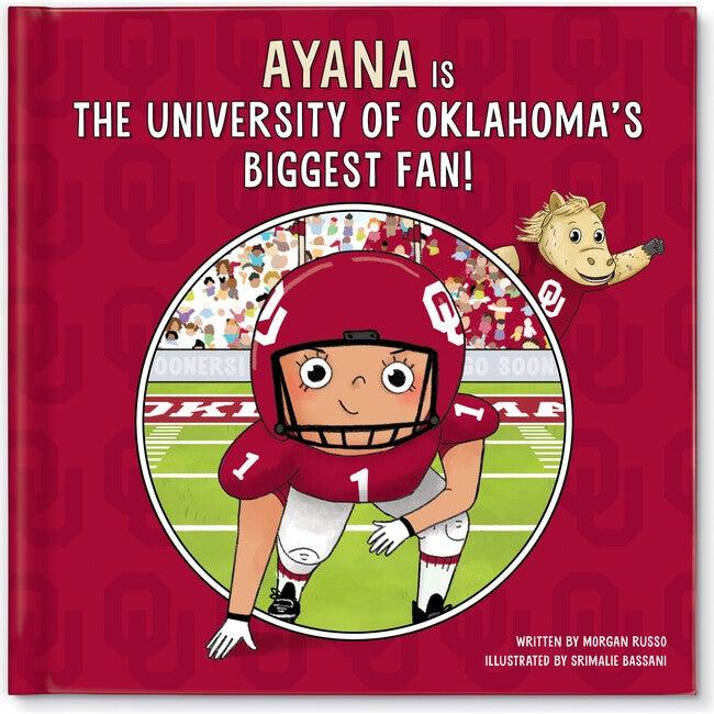 Biggest Fan! University of Oklahoma, Medium Skin Tone