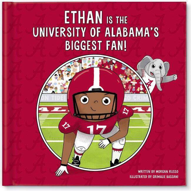 Biggest Fan! University of Alabama, Dark Skin Tone
