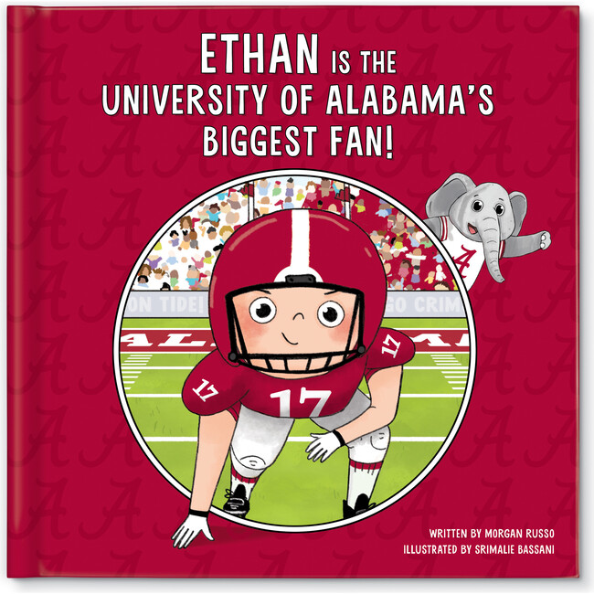 Biggest Fan! University of Alabama, Light Skin Tone