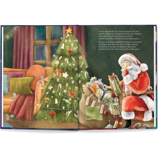 Our Family Night Before Christmas, Light Skin Santa