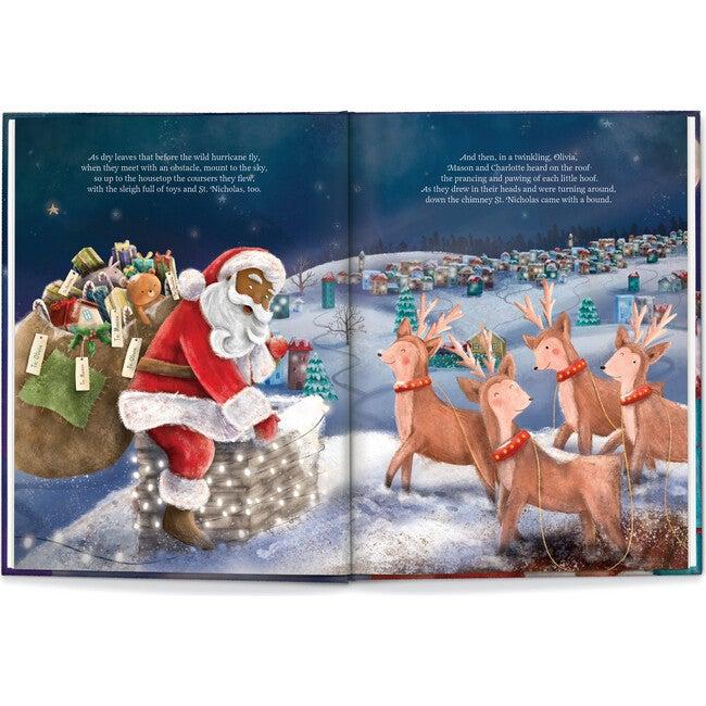 Our Family Night Before Christmas, Dark Skin Santa