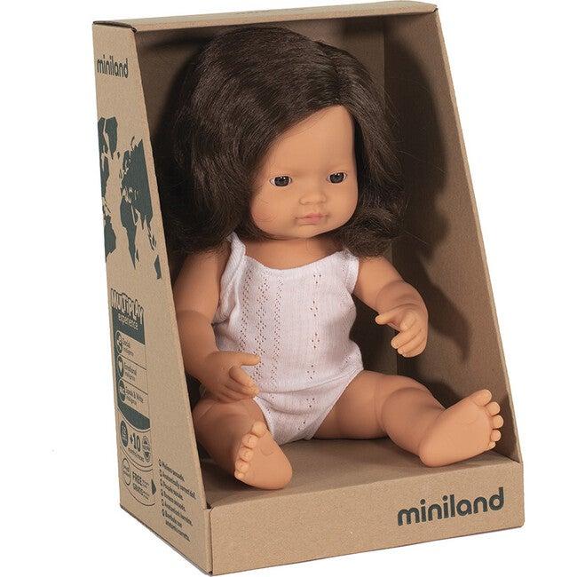 Baby Doll, Caucasian Brunette Girl