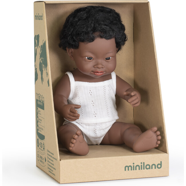 Baby Doll, African American Boy with Down Syndrome