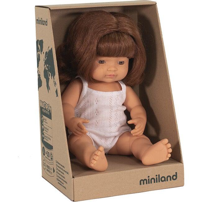 Baby Doll, Caucasian Redhead Girl