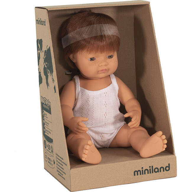Baby Doll, Caucasian Redhead Boy