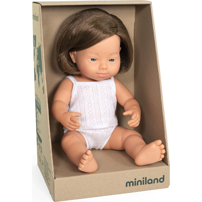 Baby Doll, Caucasian Girl with Down Syndrome