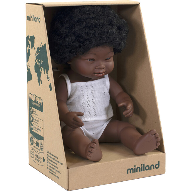 Baby Doll, African American Girl with Down Syndrome