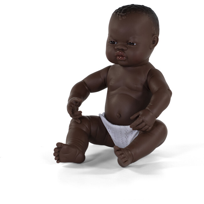 Newborn Baby Doll, African American Girl