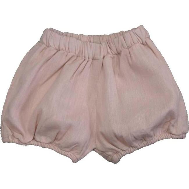 Linen Diaper Cover, Dusty Rose - Bloomers - 1