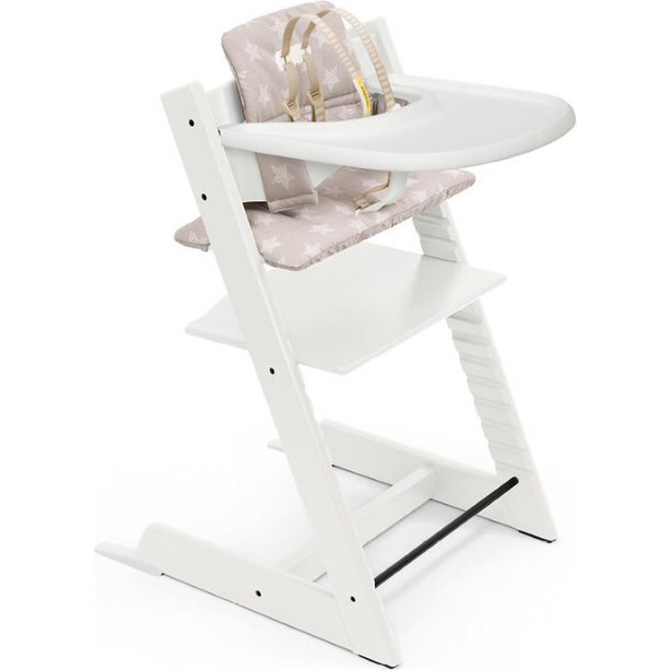 Tripp Trapp® High Chair and Cushion with Stokke® Tray - Highchairs - 1