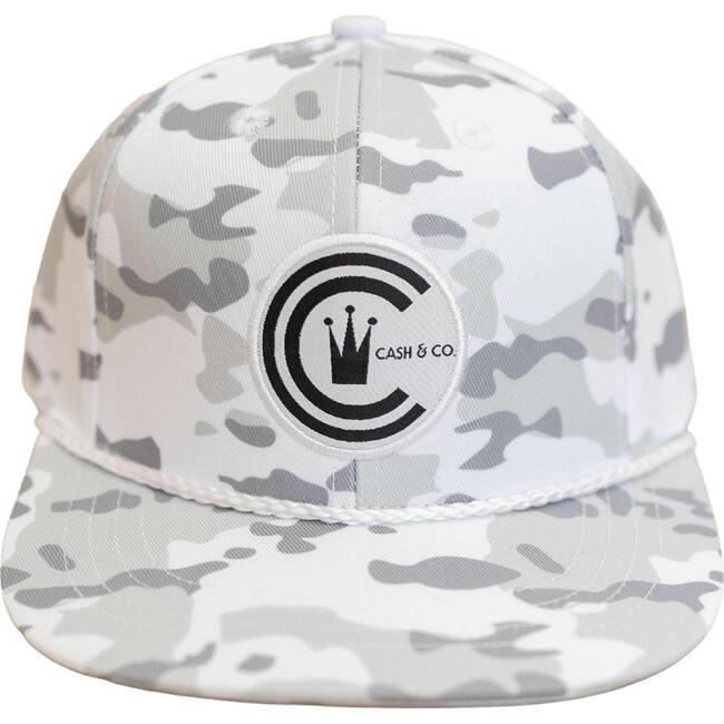 White Camo Snapback